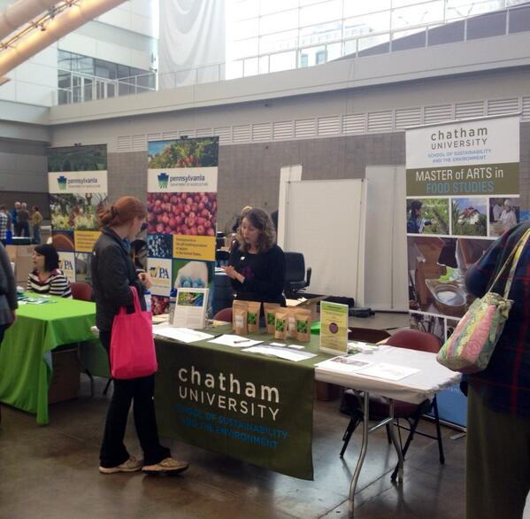 Tabling at the Farm to Table Conference