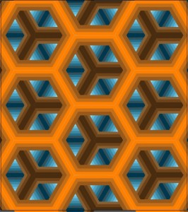Honore, Sandy_Hexagon pattern