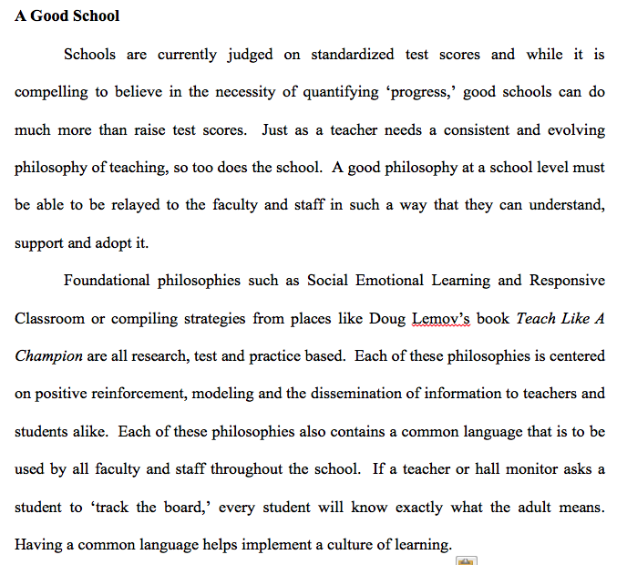 essay on teaching philosophy Philosophy of education essay example the philosophy of education is a wide and varied examination of education and its benefits, flaws and rooms for growth.