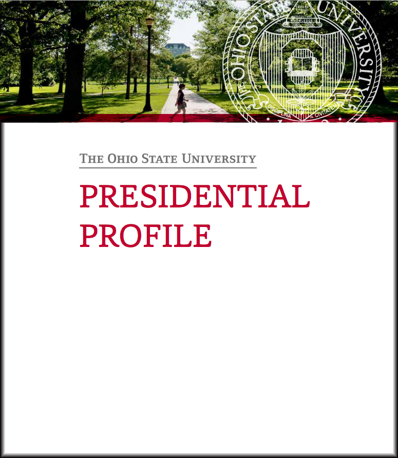 presidential search cover